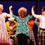 Dan Murphy, Lacretta Nicole, and Blythe Woodland in Hairspray