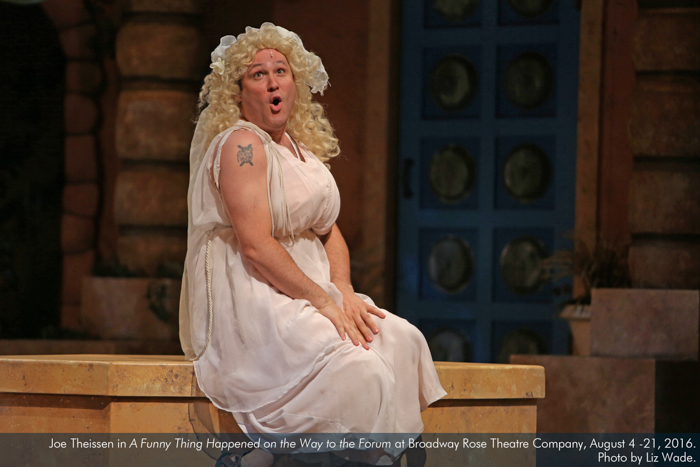 Joe Theissen in A Funny Thing... Forum