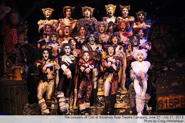 Cats at Broadway Rose Theatre Company