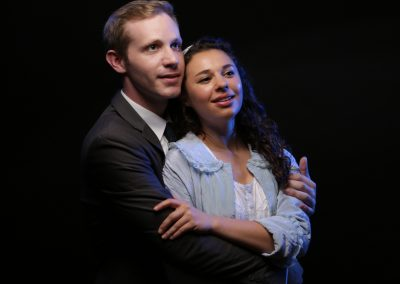 Andrew Wade and Mia Pinero; Photo by Craig Mitchelldyer