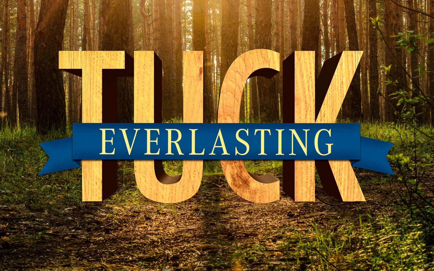 """<p style=""""font-size:16px""""><i>Tuck Everlasting</style></i>"""